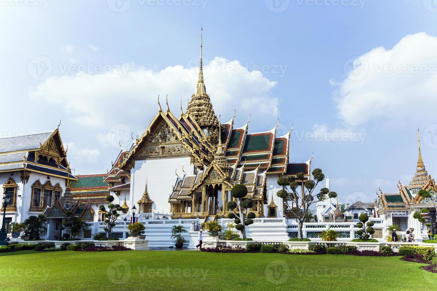 phra tinang aporn phimok prasat paviljong i det stora palatset foto