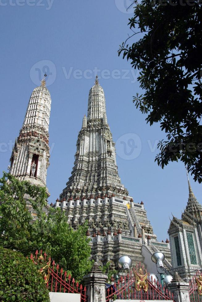 wat arun i bangkok, Thailand foto