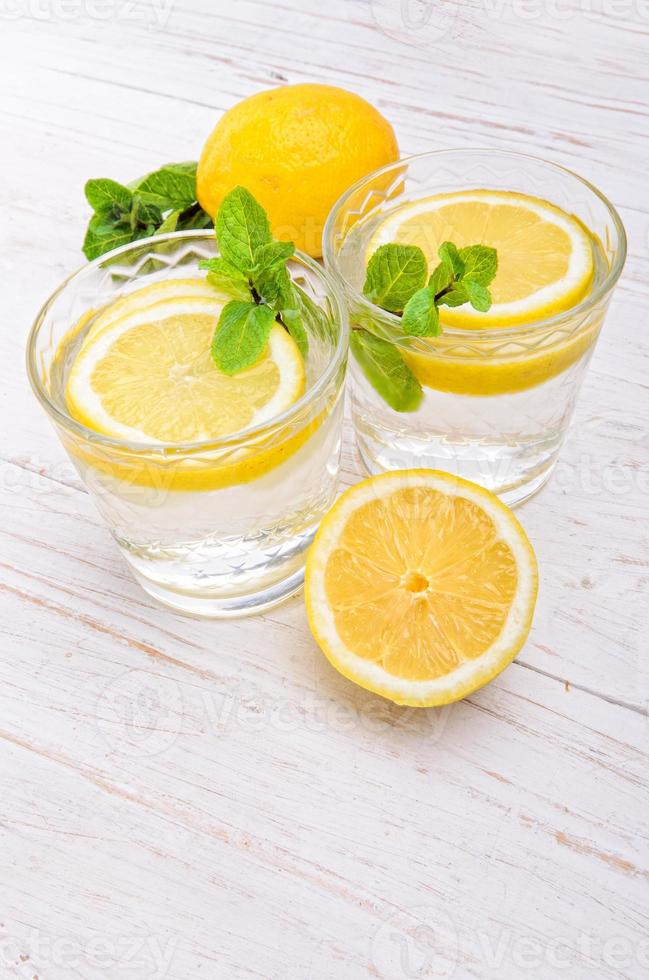 citron dryck foto
