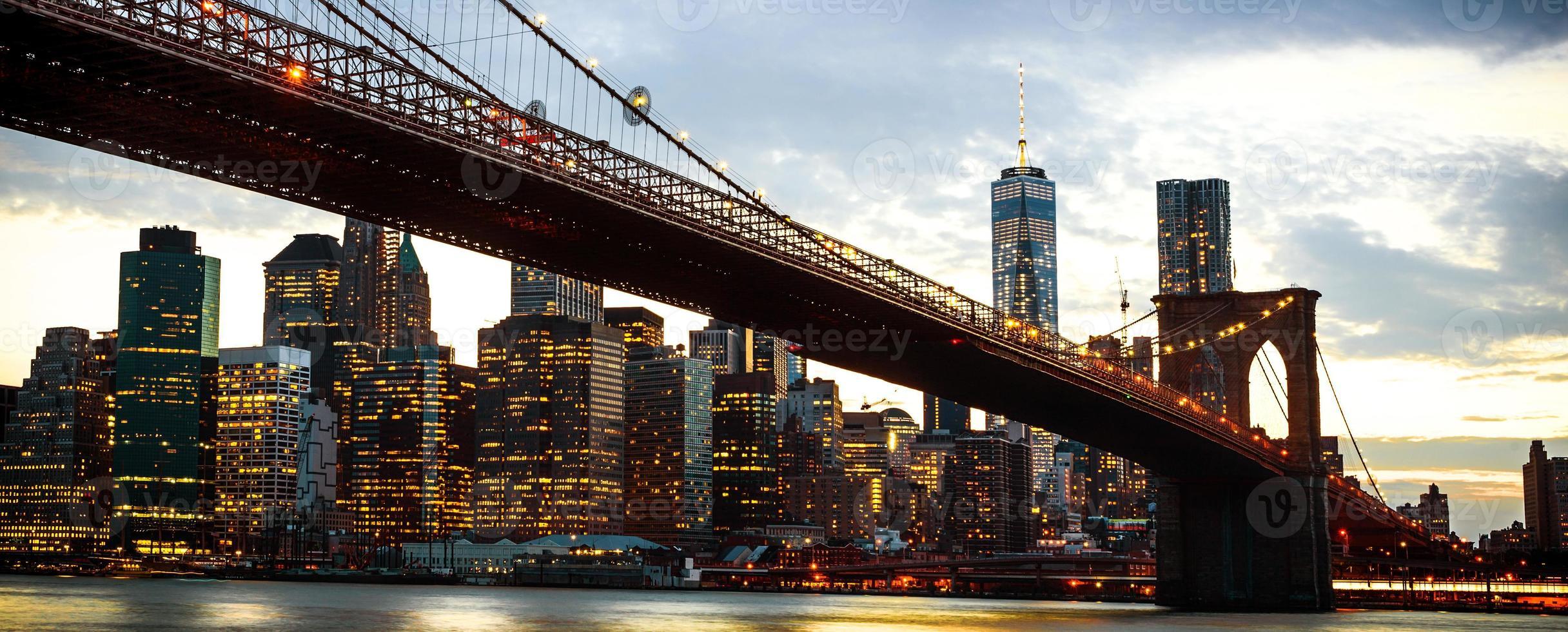 new york city skyline foto