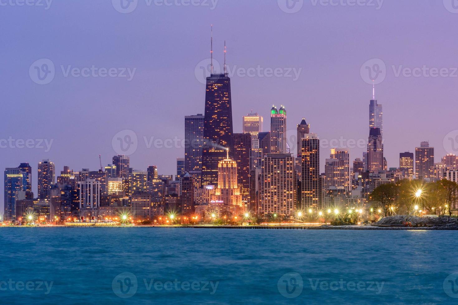 chicago skyline foto