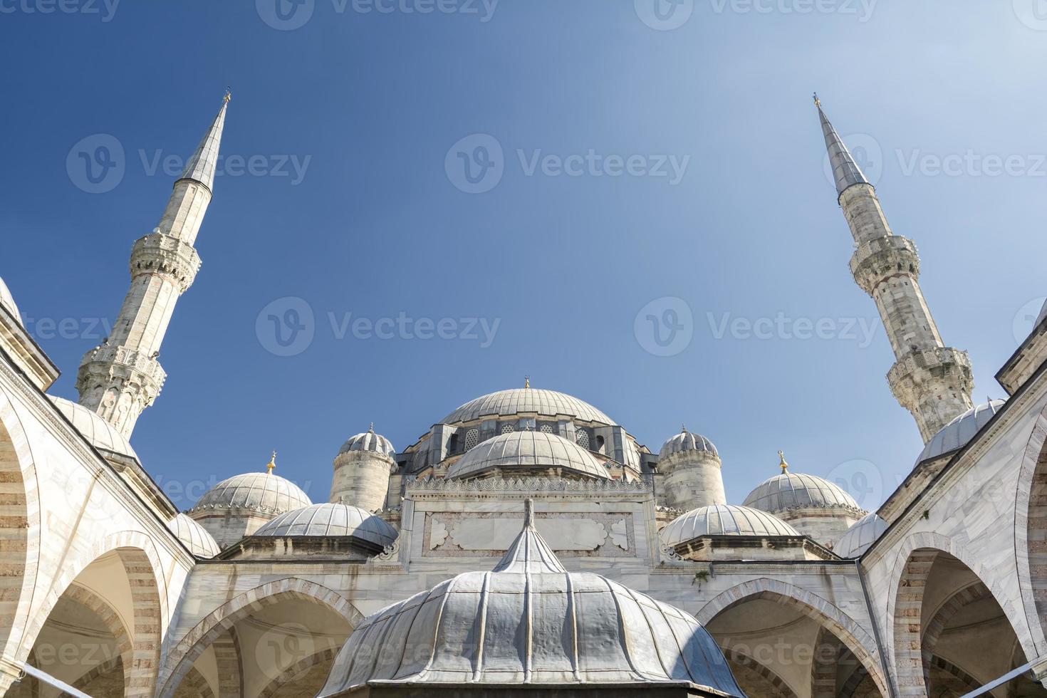 sehzade moské, istanbul, kalkon foto