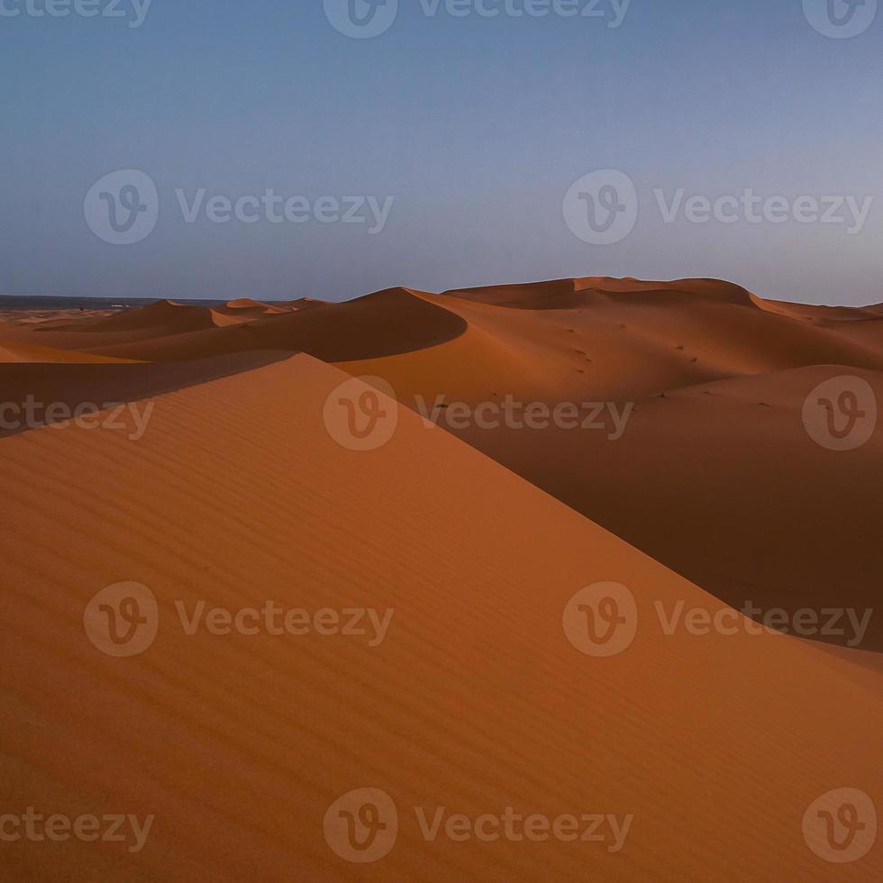 erg chebbi i Marocko foto