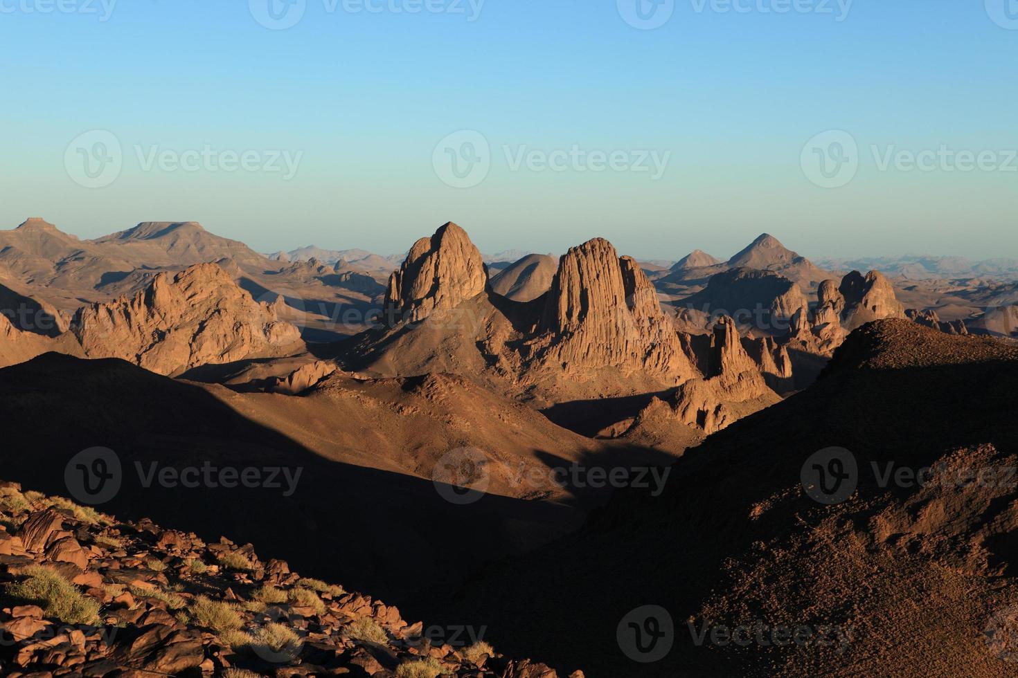die sahara i algerien foto