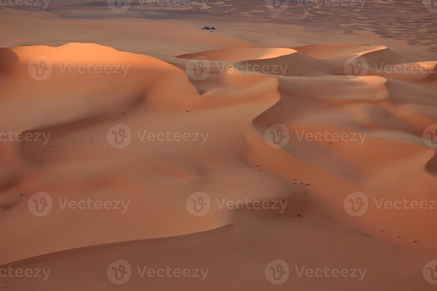 die wüste sahara i algerien foto