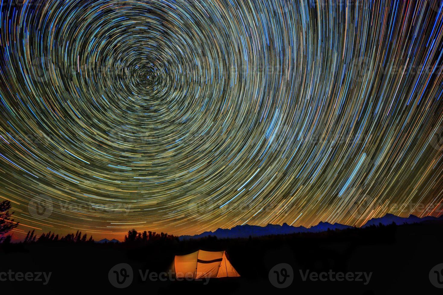 stjärnspår foto