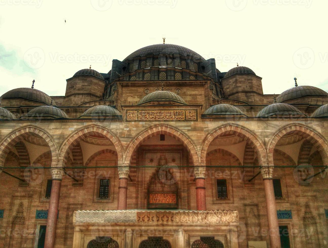 suleymaniye moské foto
