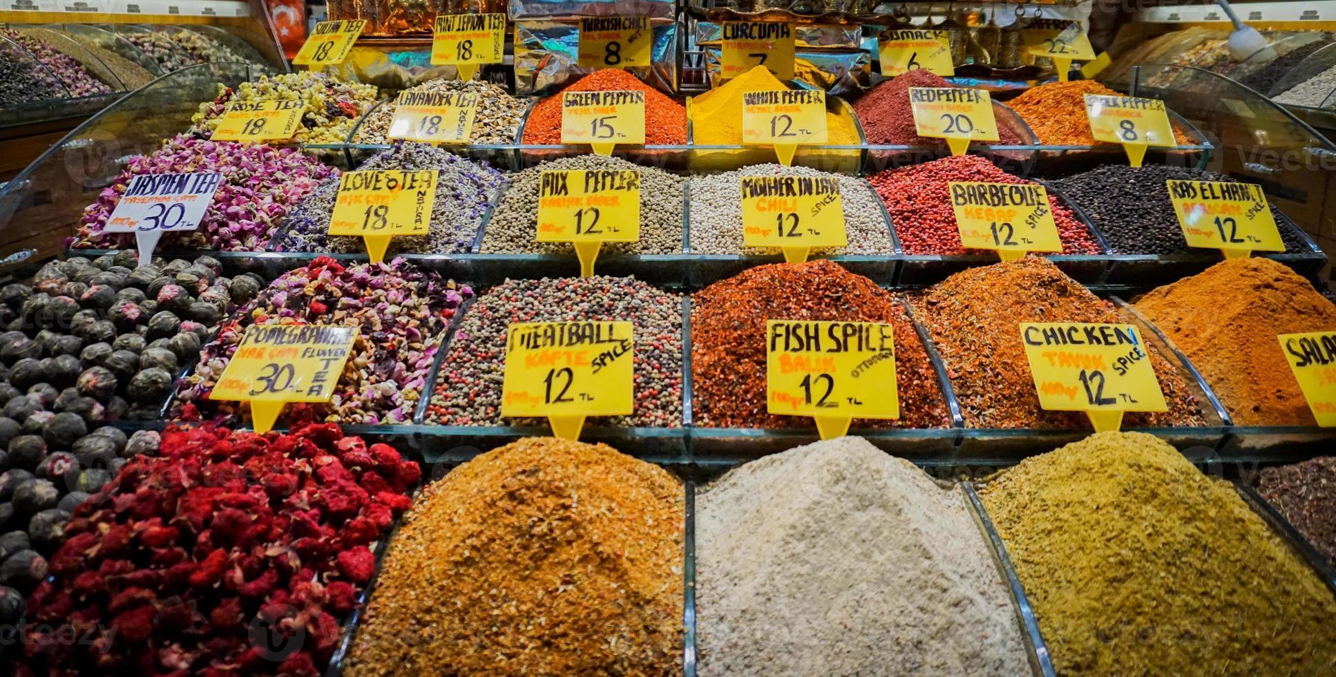 frenesi av kryddor foto