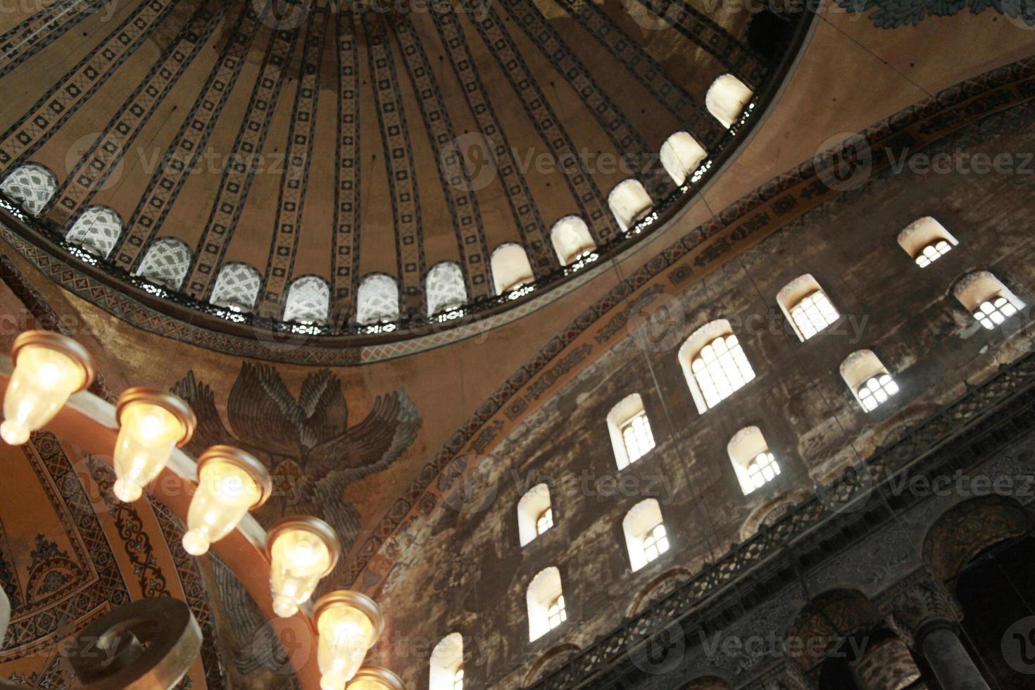 aya sofya, istanbul, kalkon foto