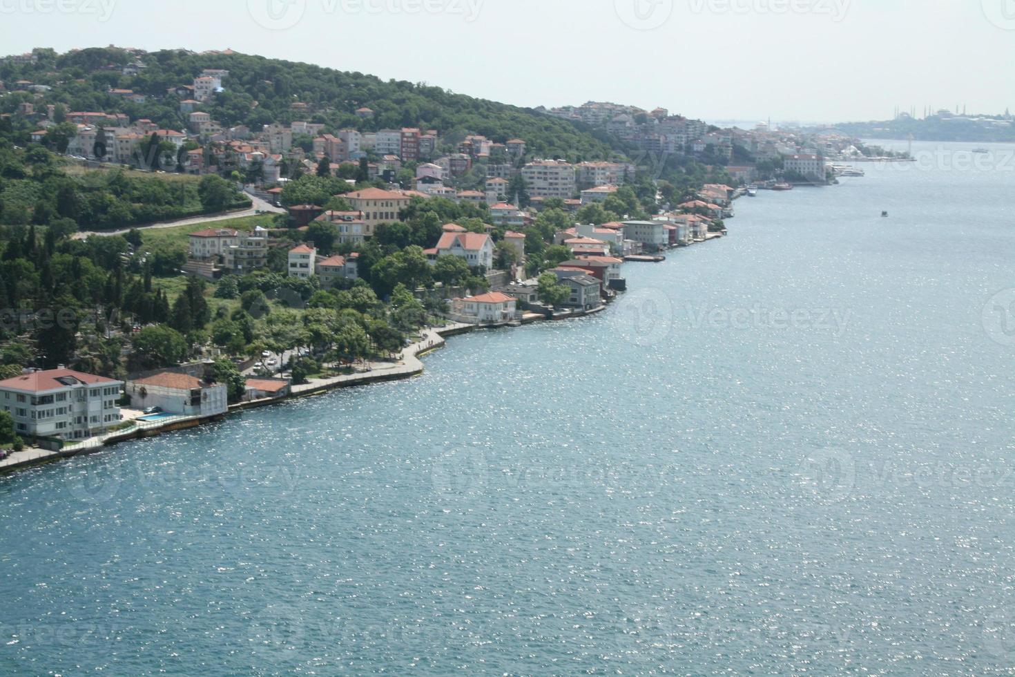 asfiska kusten i Bosphorus 3 foto