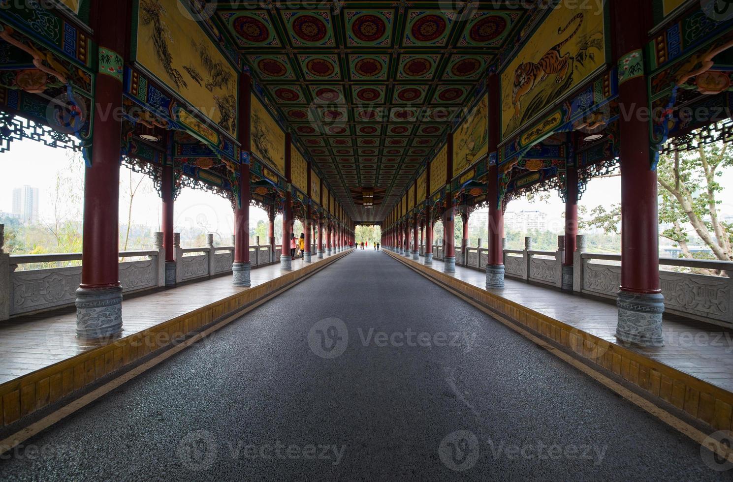 den långa korridoren foto