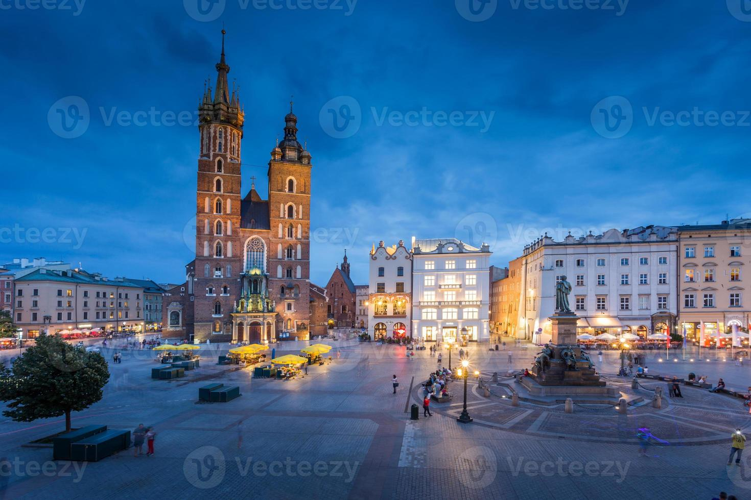 krakow i Polen foto