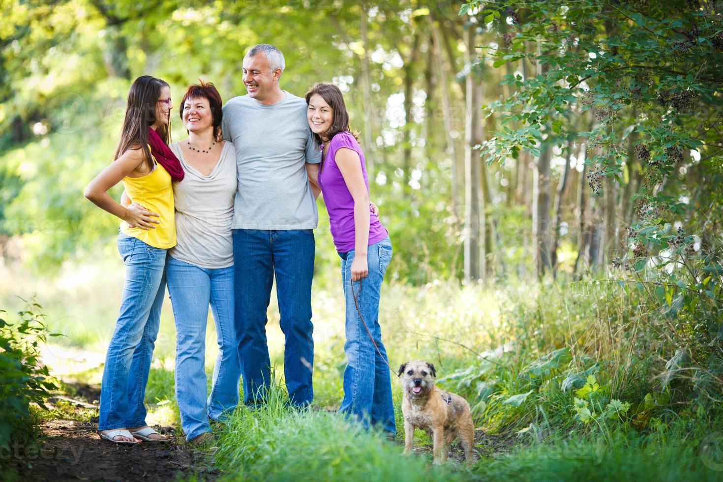 familjeporträtt foto