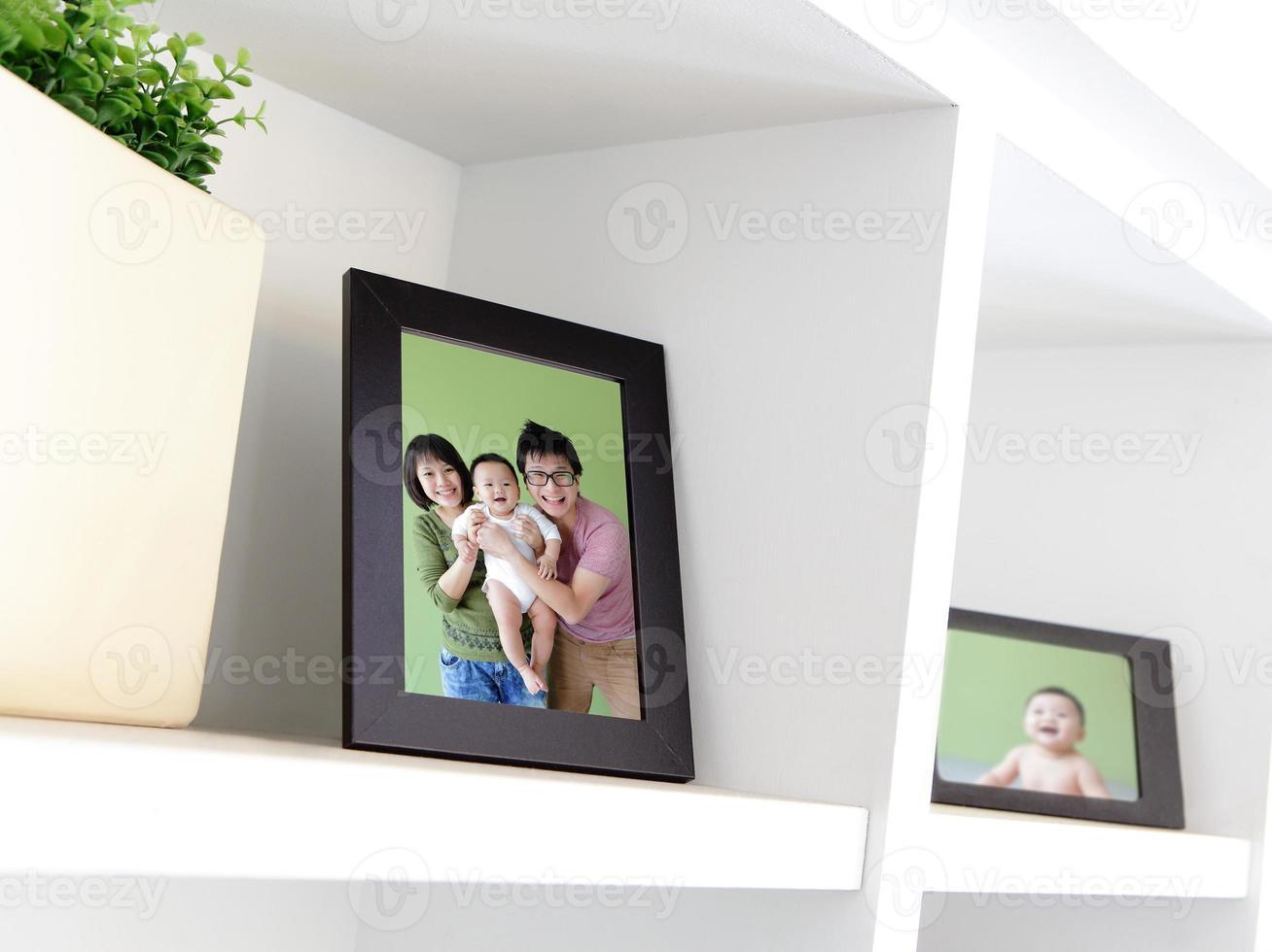 lycklig familjefoto foto