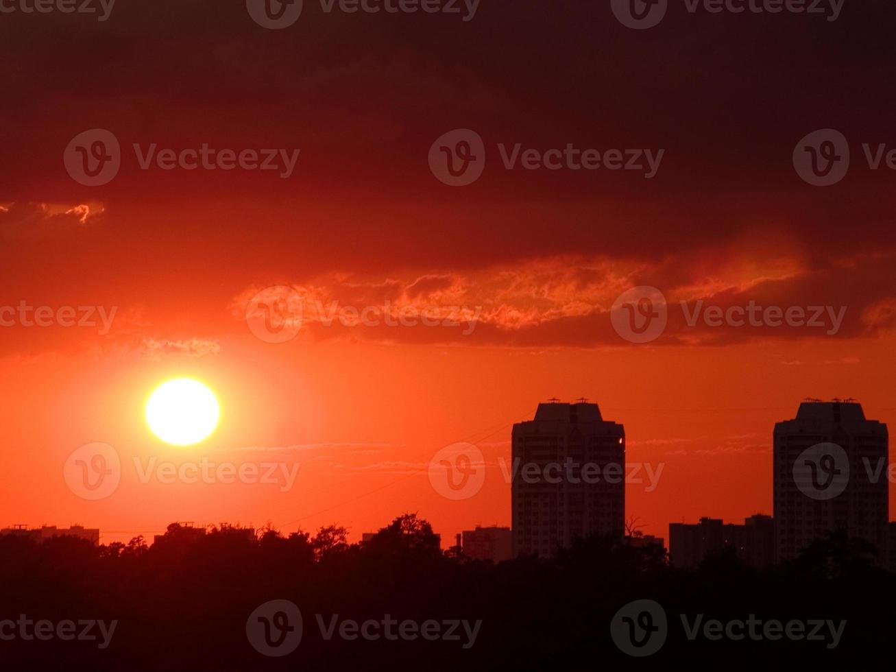 solnedgång 4 foto
