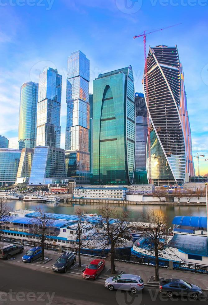 Moskva affärscentrum foto