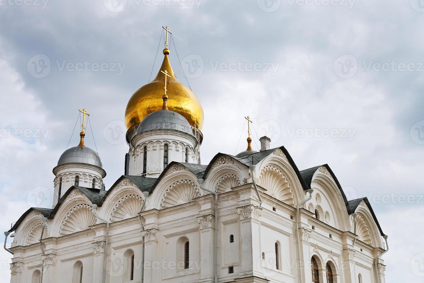 ärkeängelkatedralen i Kreml i Moskva foto