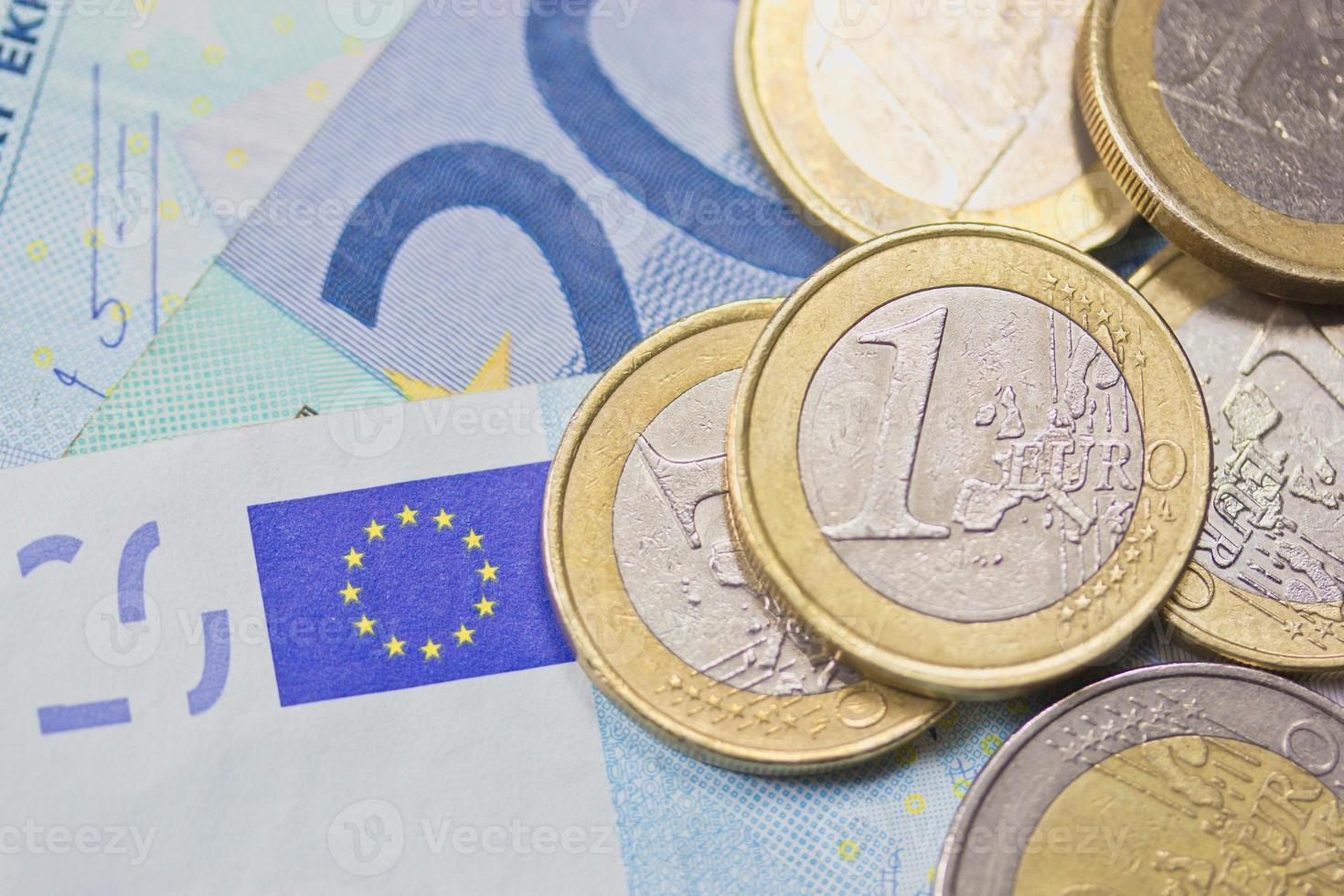 euro pengar (bakgrund) foto