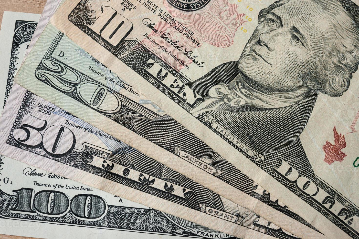 oss dollar pengar bakgrund foto