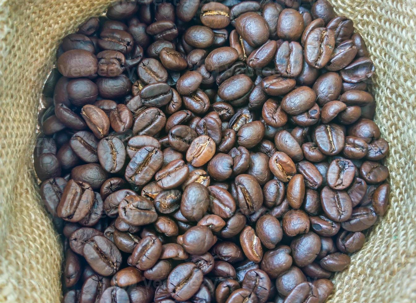 kaffe bakgrund väska foto