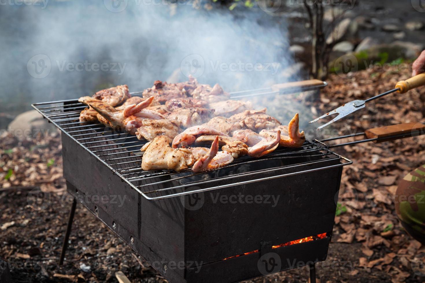 grilla kyckling foto