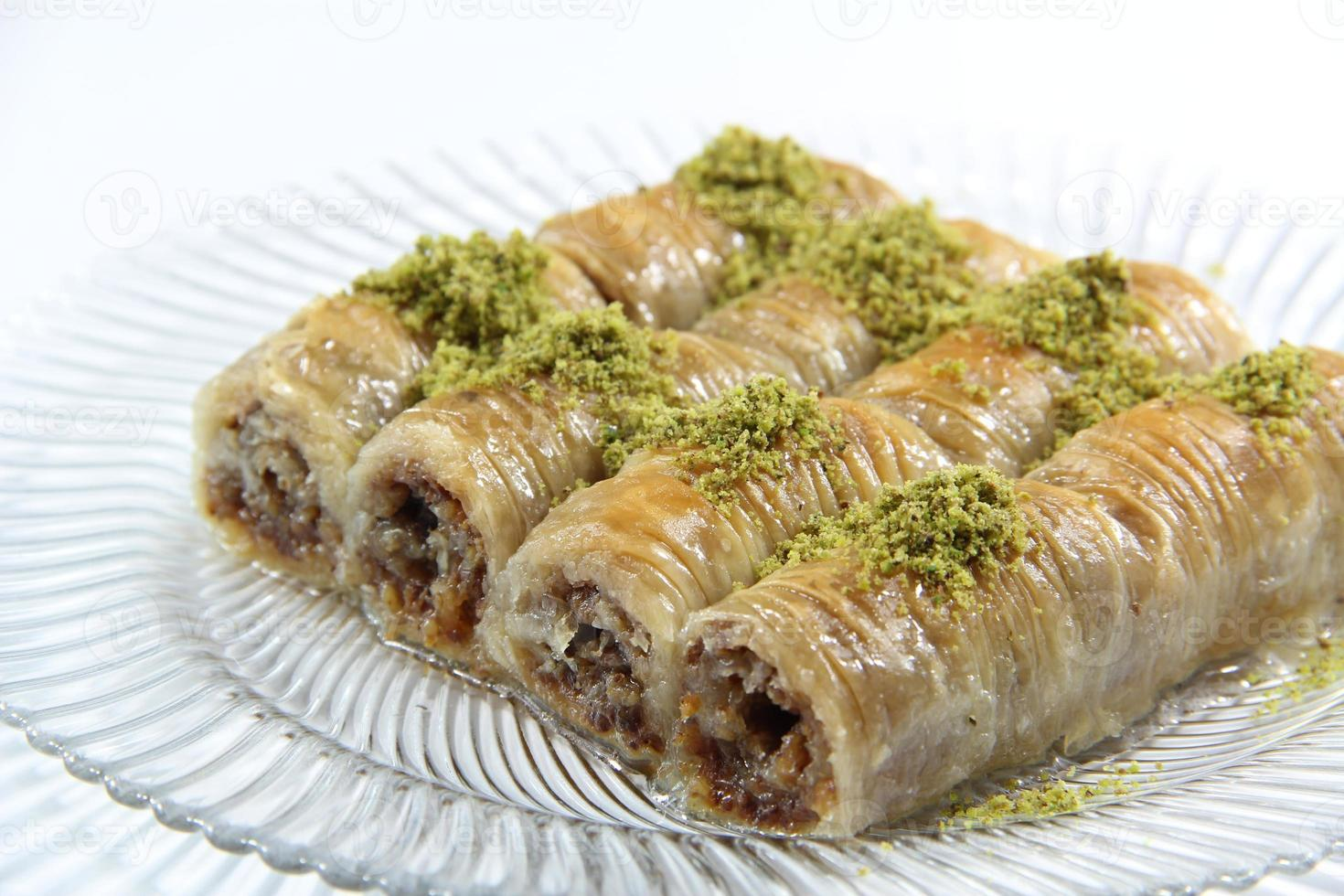 turkisk glädje - baklava foto