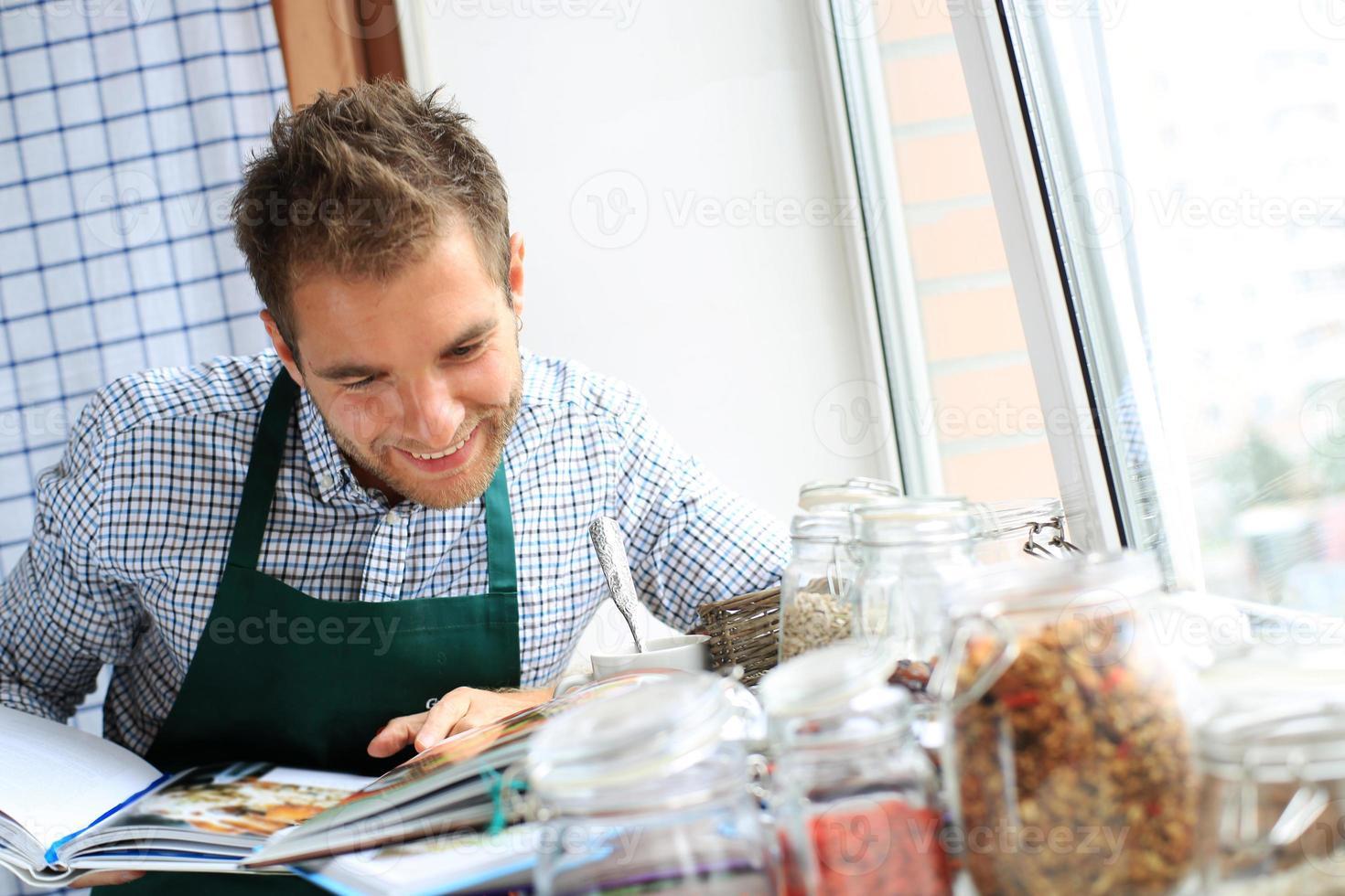 kille matlagning foto
