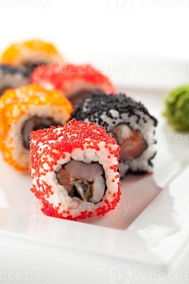 japansk mat - sushi foto
