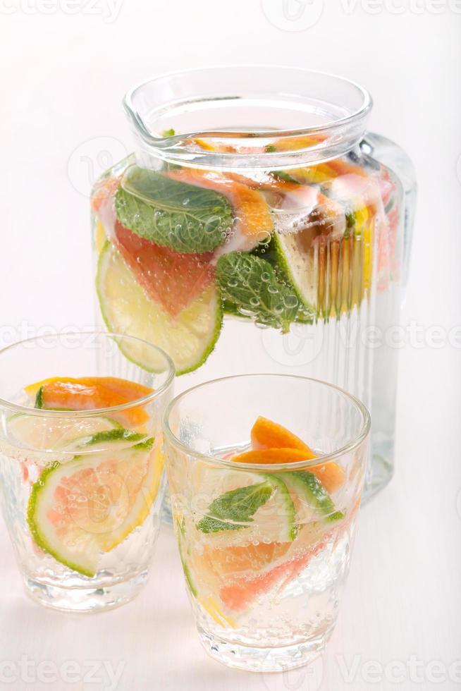 citrusvatten foto