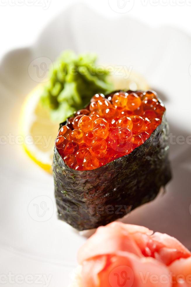 ikura sushi foto