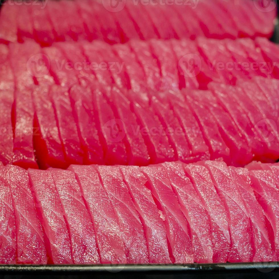 sashimi bakgrund - japansk sushi foto