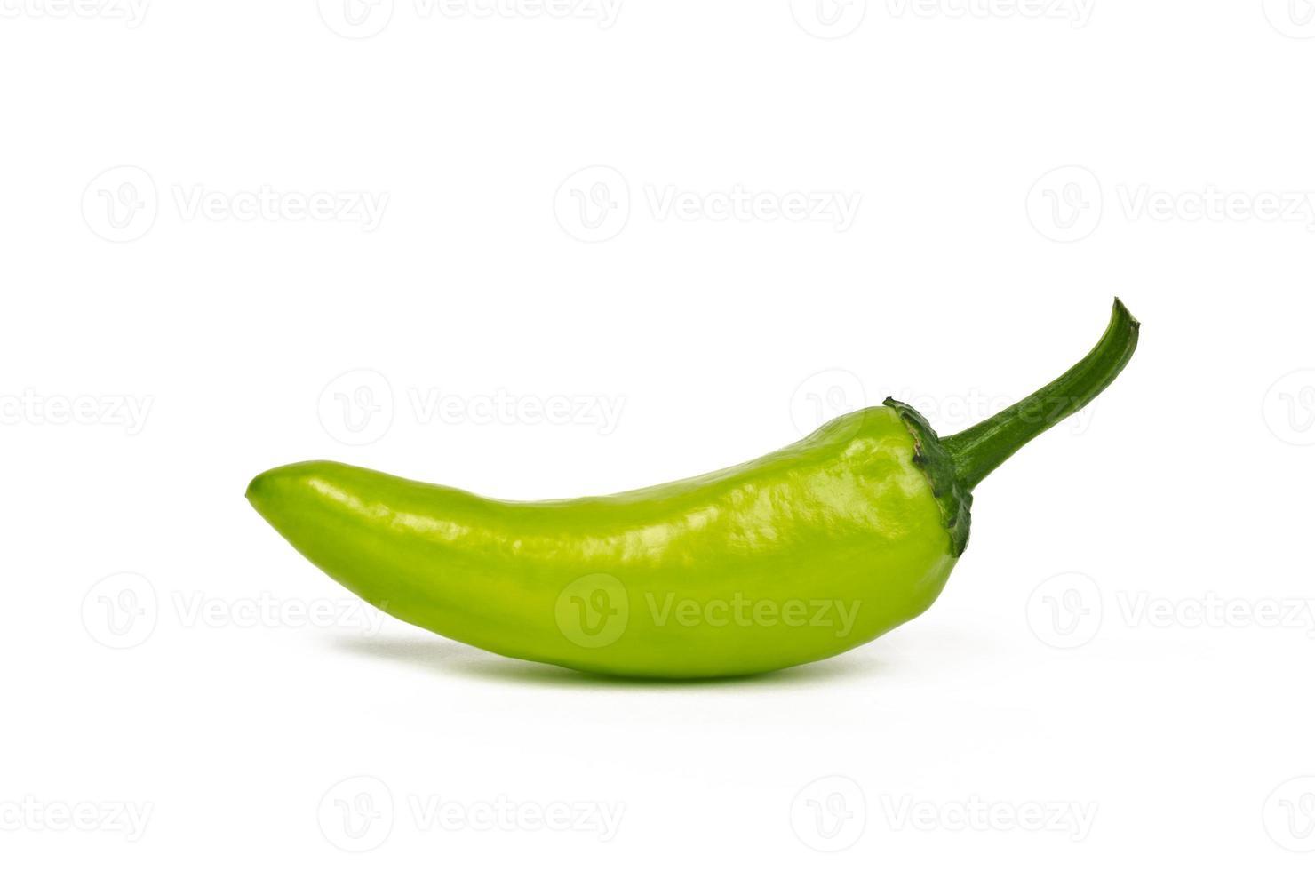 singel jalapeno (greenchilli) foto