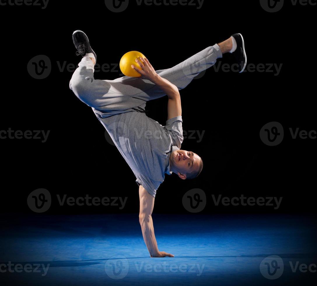 breakdancer utbildning foto