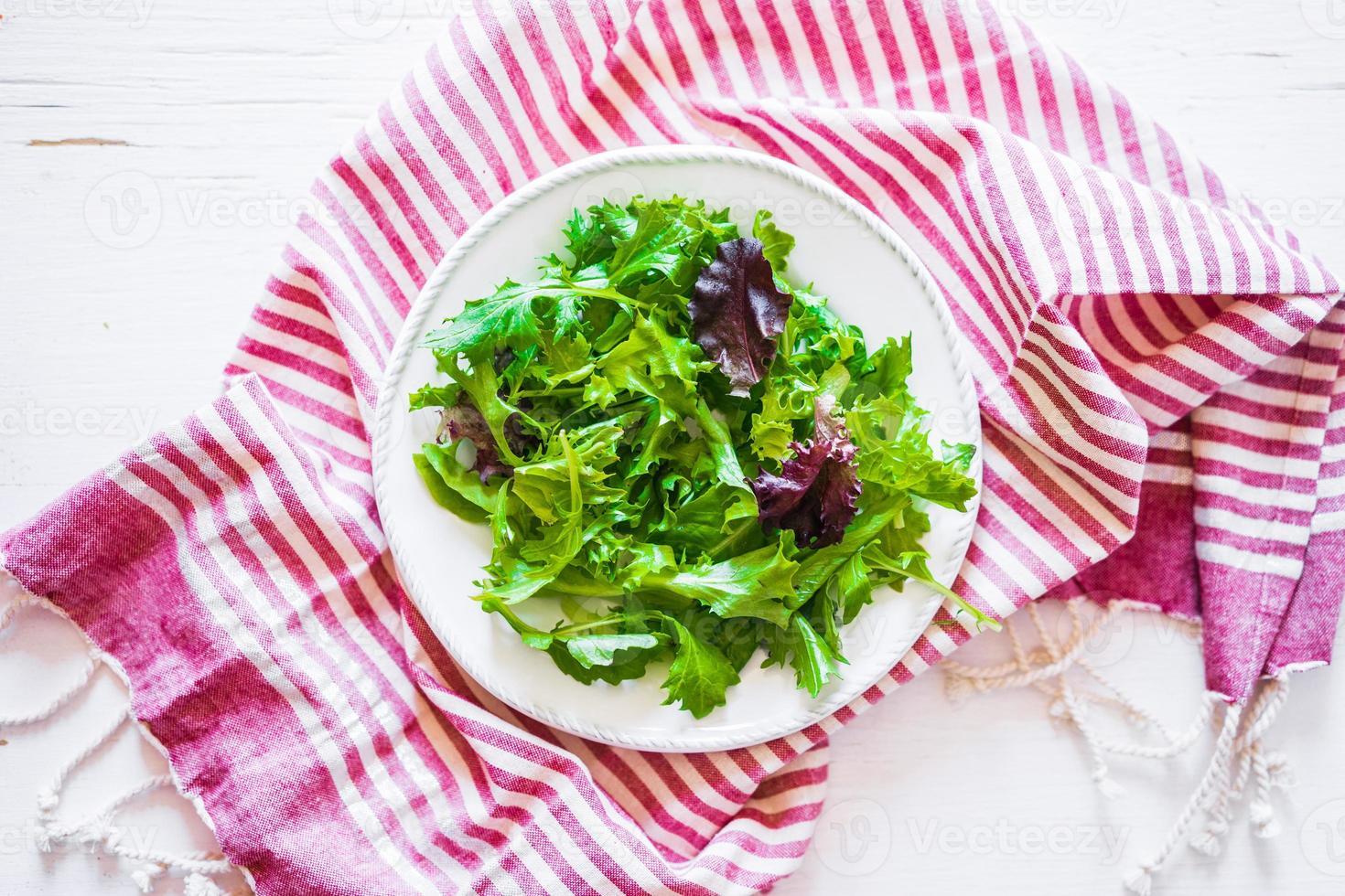hälsosam sallad foto