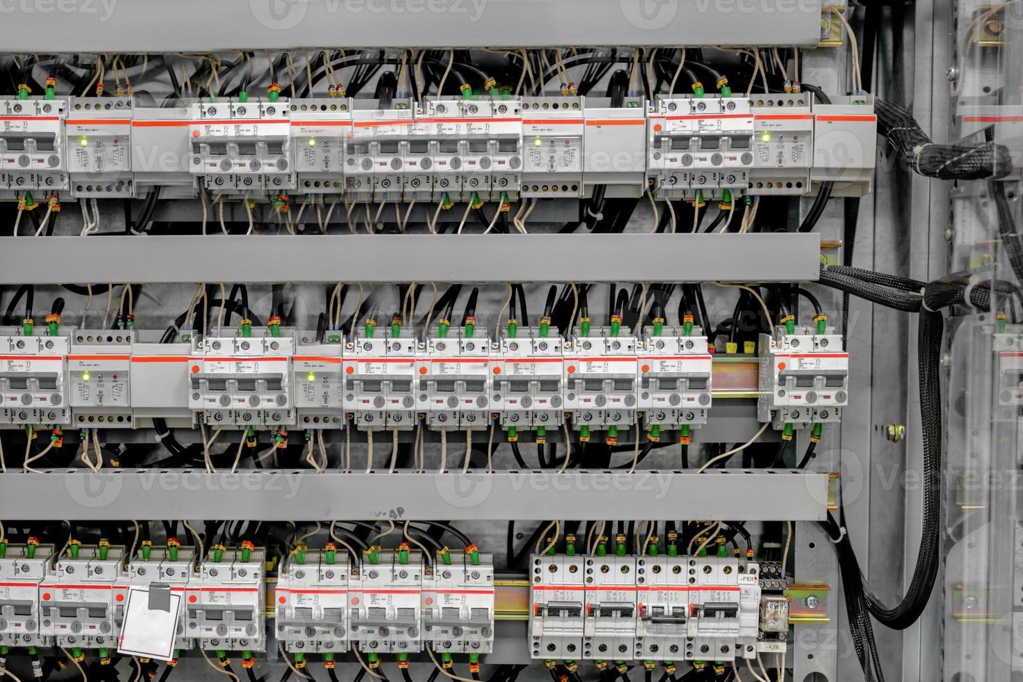 kontrollrum för ett kraftverk foto