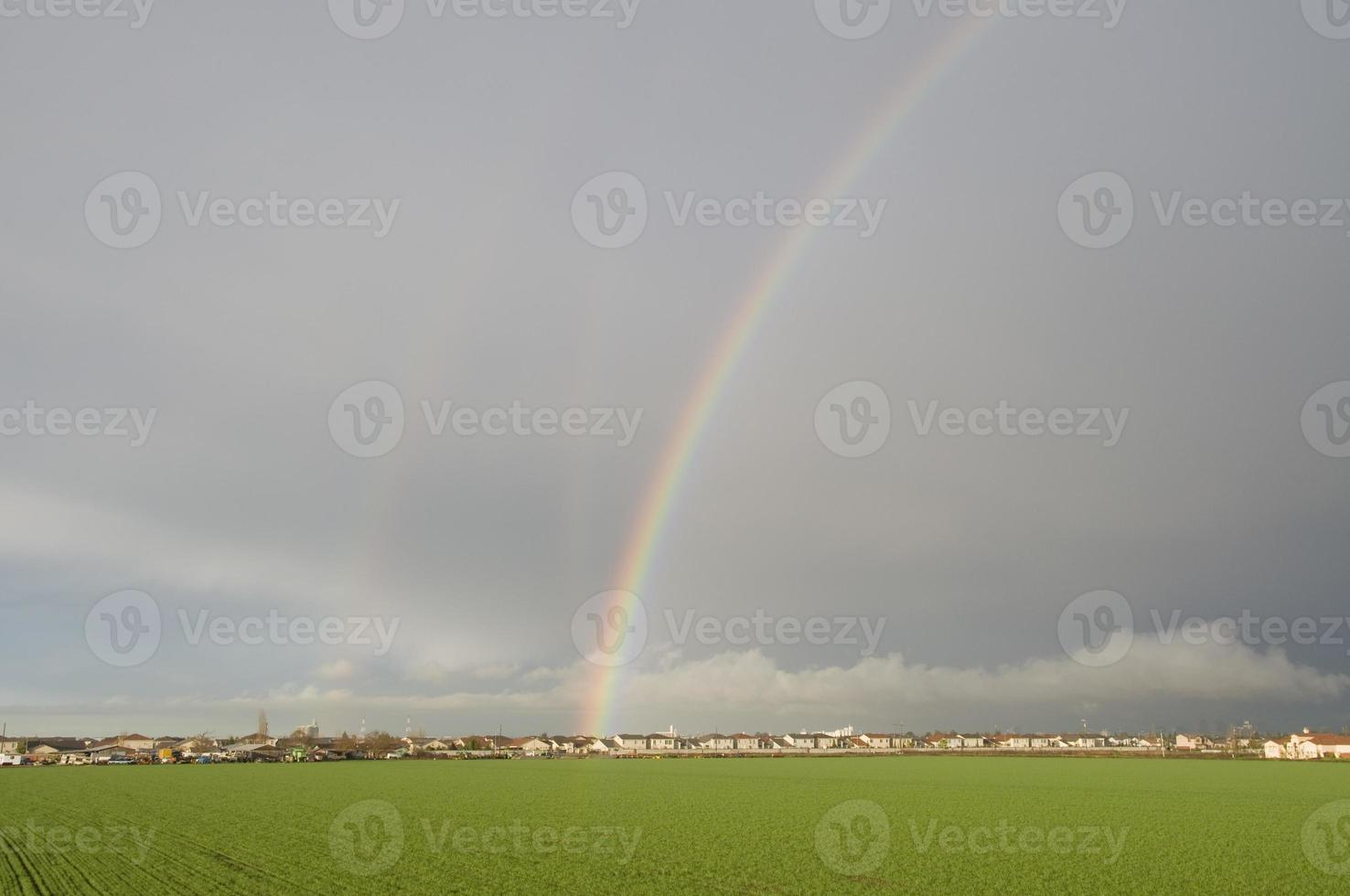 tre regnbågar foto