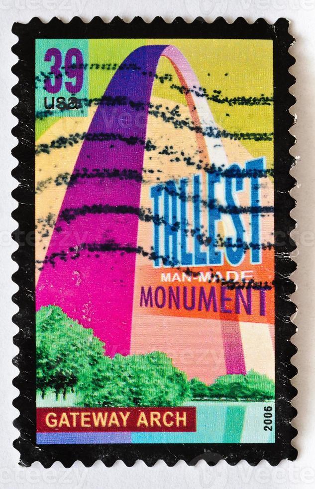 gateway arch stamp foto