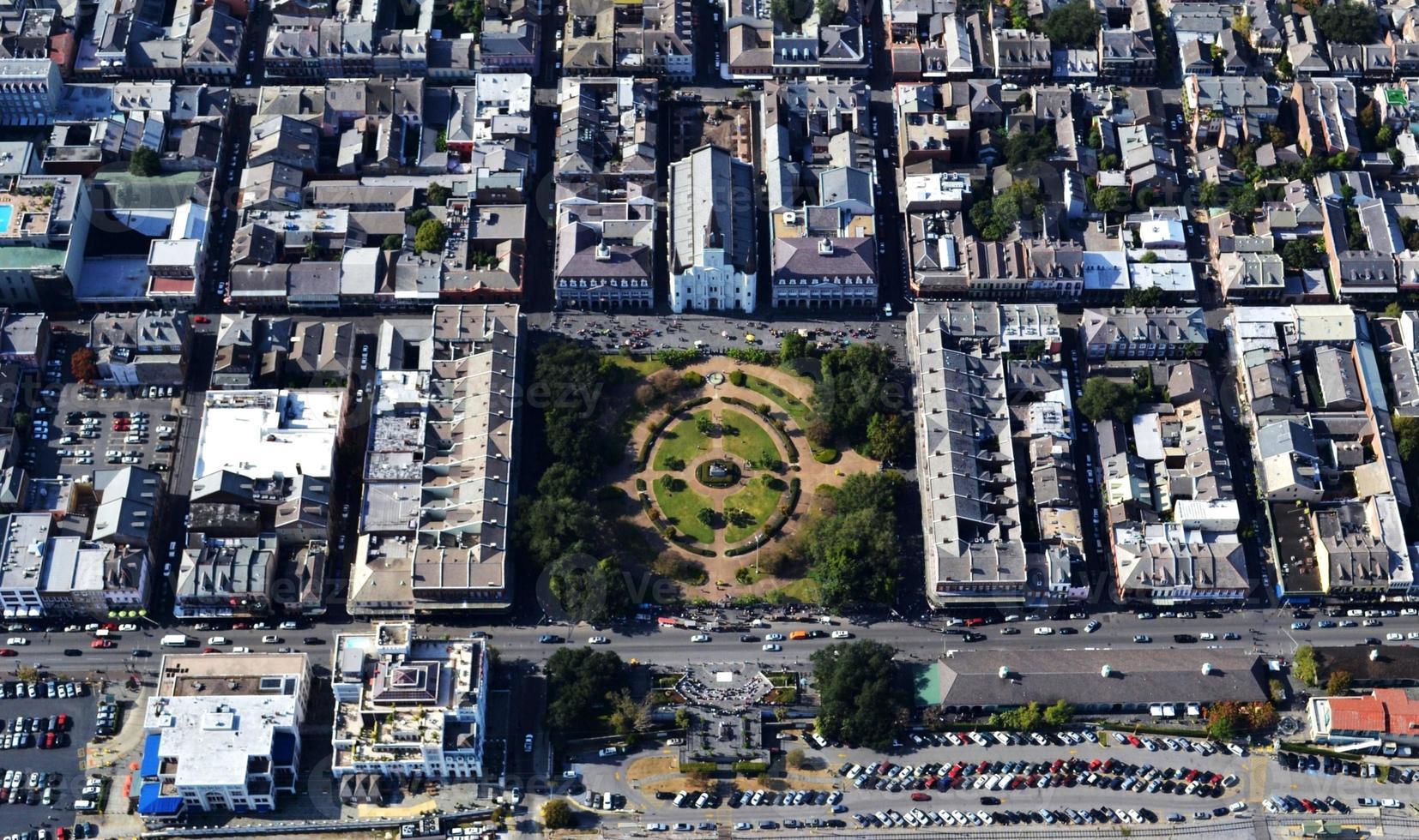 nya orleans franska kvarteret Jackson Square foto