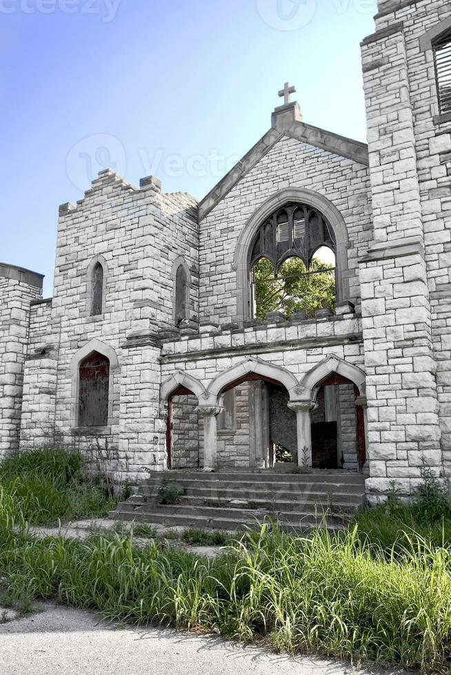 st. Pauls kyrka - urban förfall foto