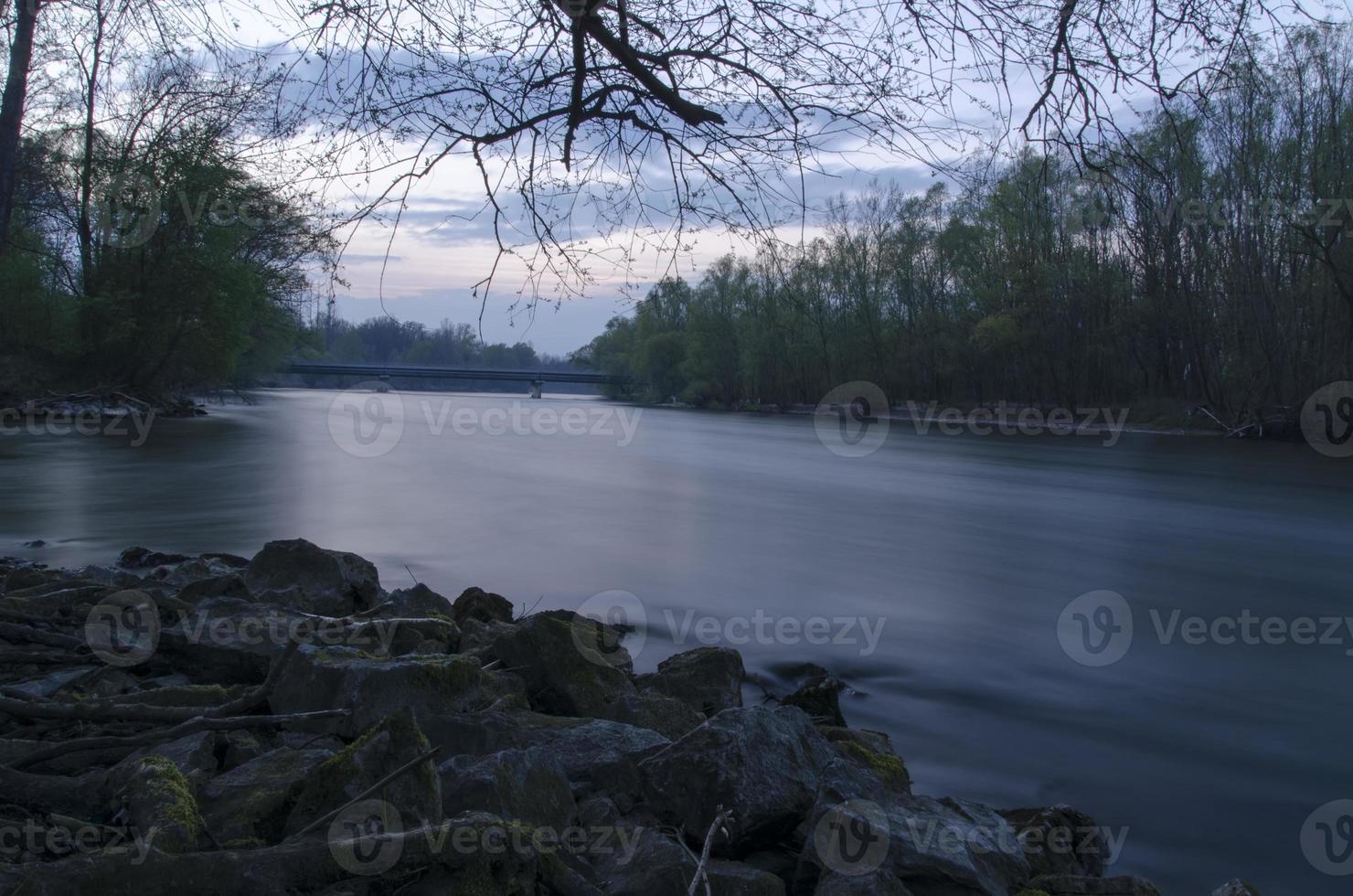 flod scen foto