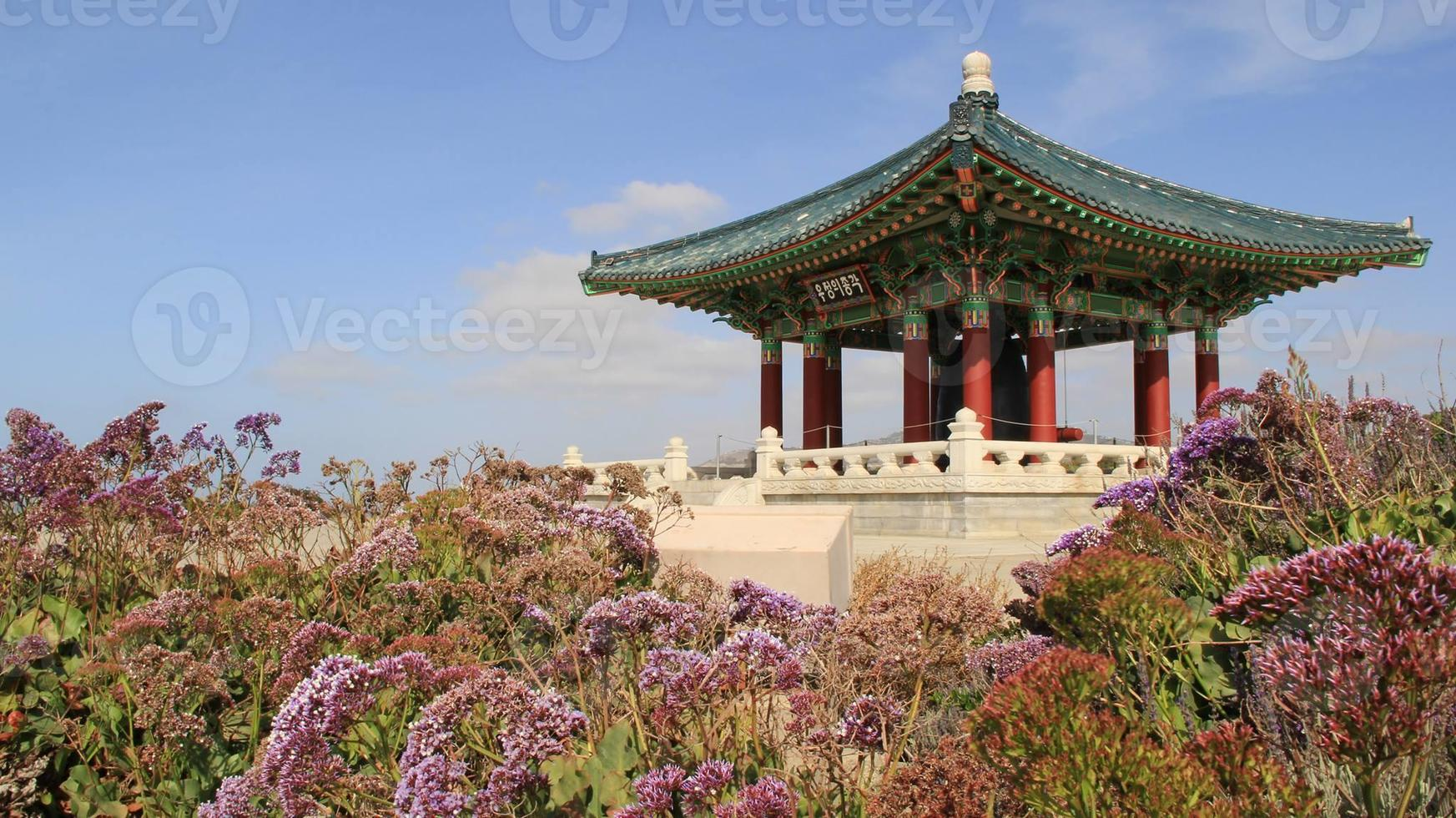 koreanska klocktorn foto