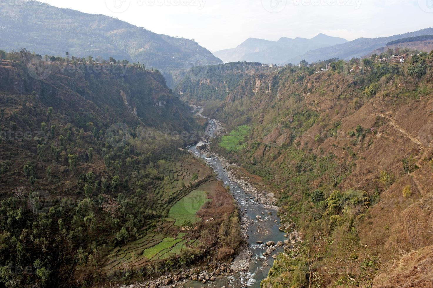 Modi River Gorge foto