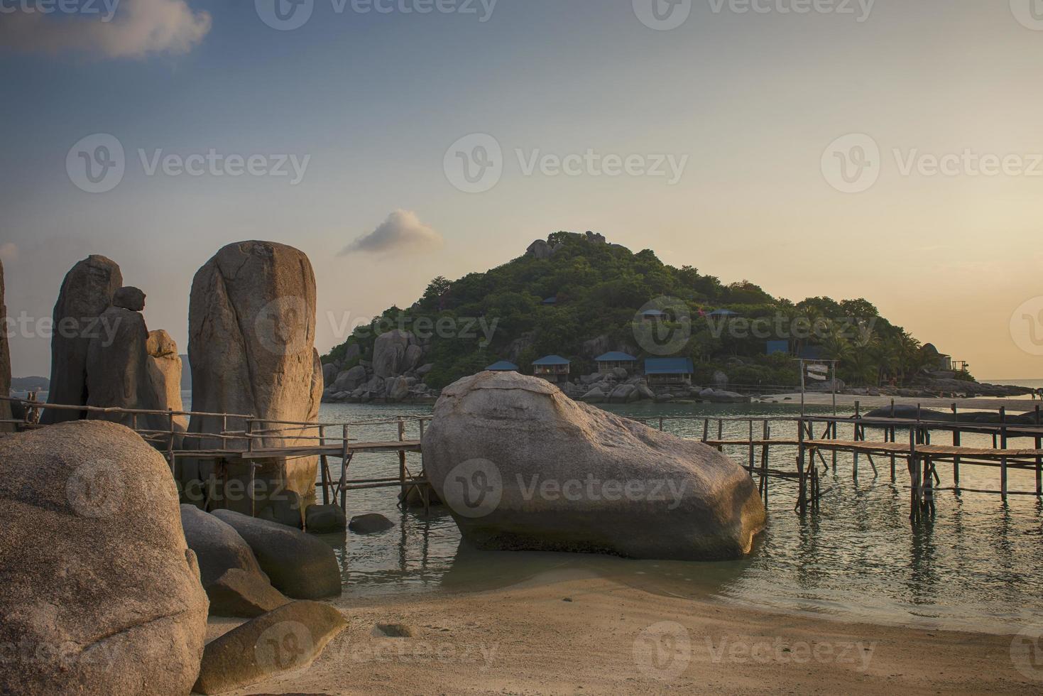 Koh Nang Yuan Island, Surat, Thailand foto