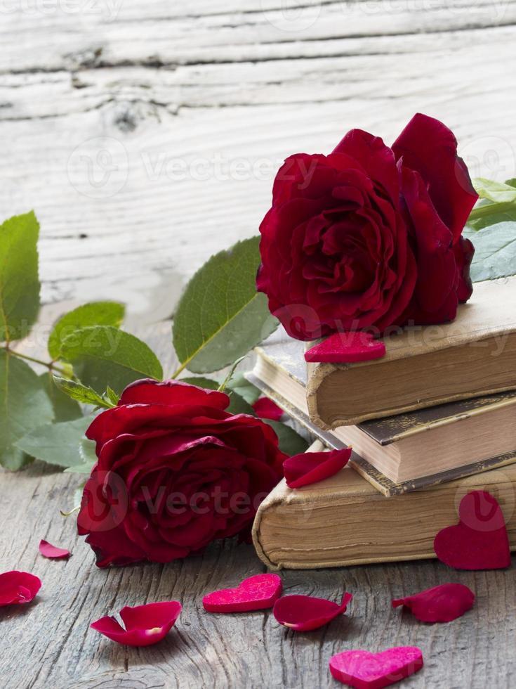 kärlek och minnen koncept foto