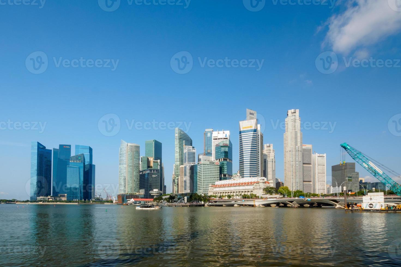 singapore centrala affärsdistrikt foto