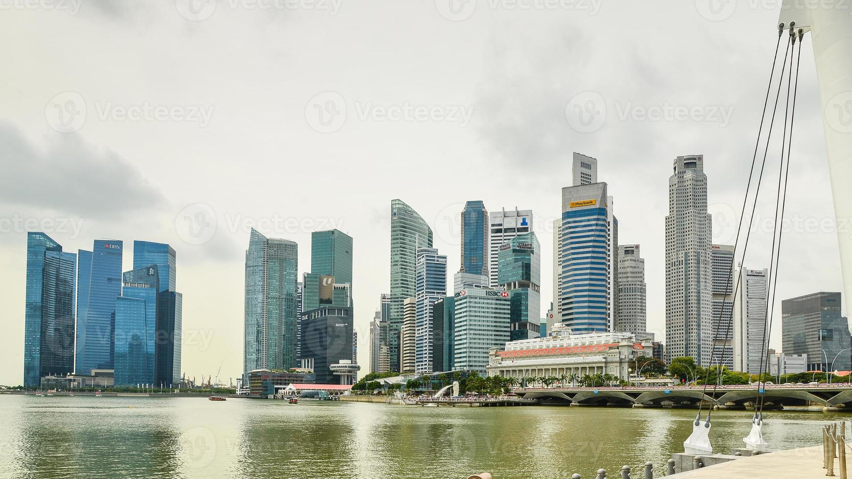 singapore högt stiger foto