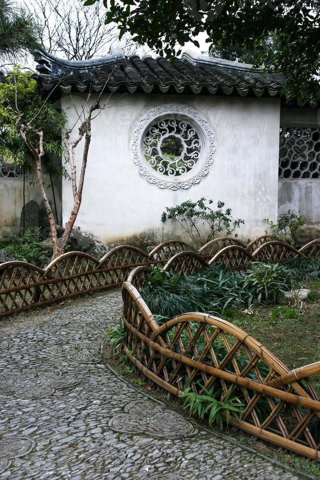 suzhou trädgård foto
