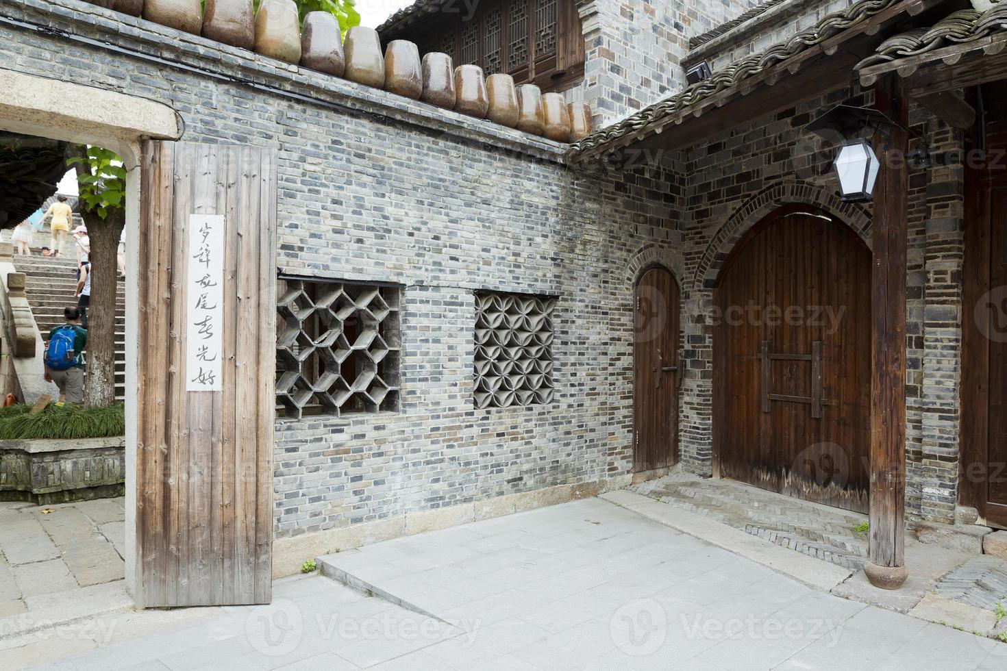 wuzhen, porslin foto