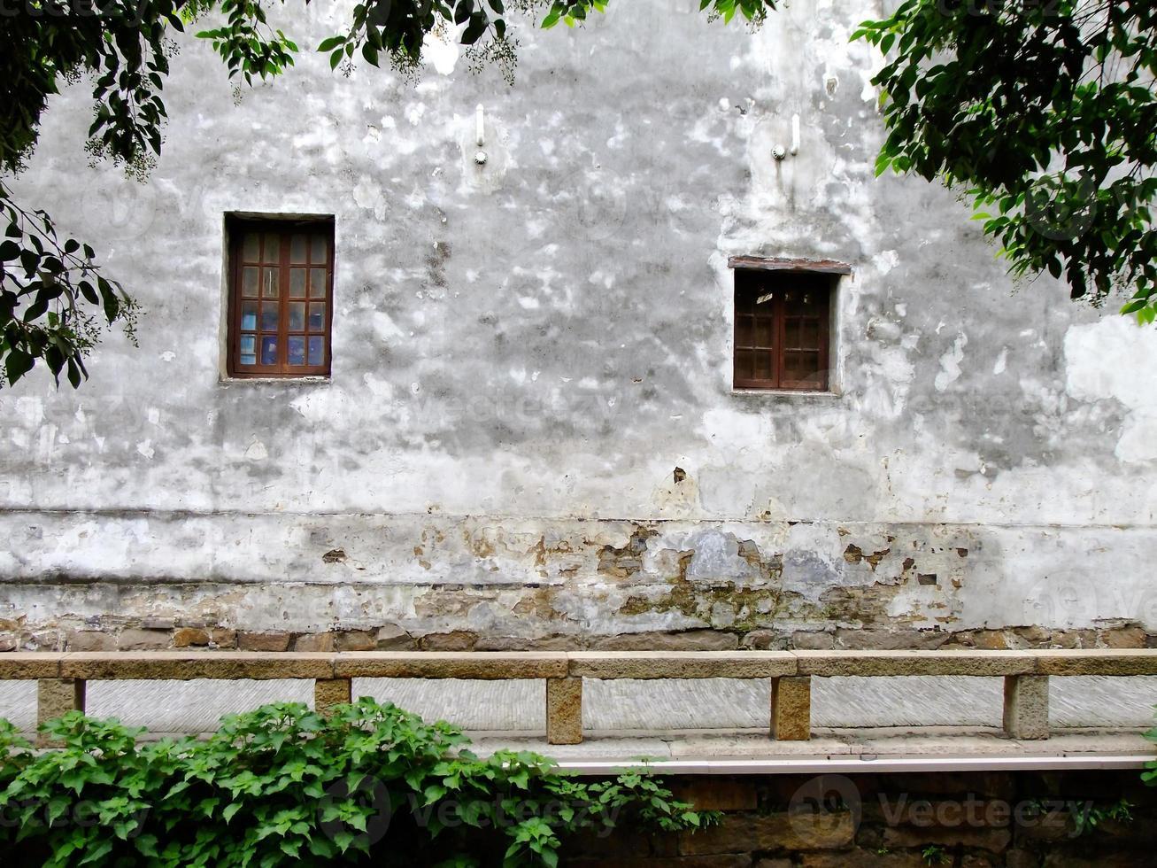 Pingjiang forntida gata i Suzhou, Kina foto
