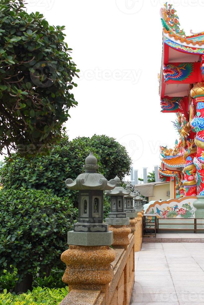 kinesisk trädgård foto